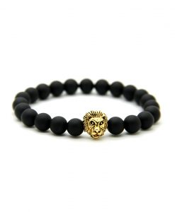 Black-mat-lion-gold