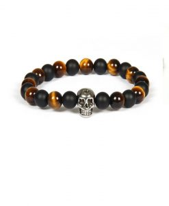 Brown Black Skull