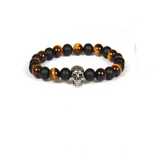 Brown Black Skull