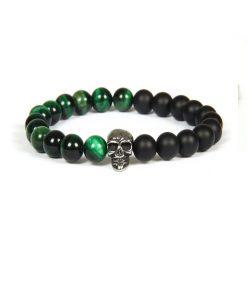 Green Black Skull
