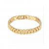 small unique armband goud
