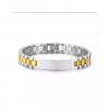 SUite Bracelet SIlver&Gold