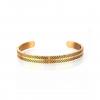titanium bracelet goud