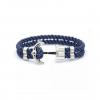 anchor armband zilver